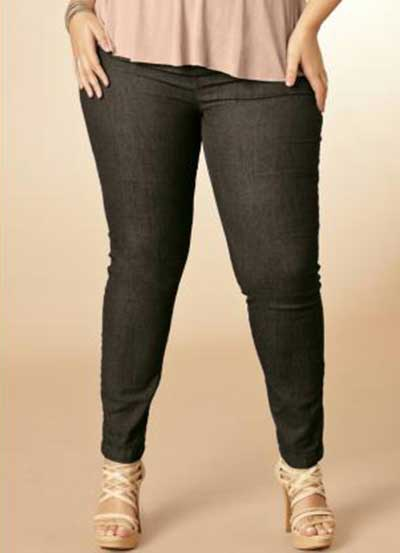 fotos de calças plus size