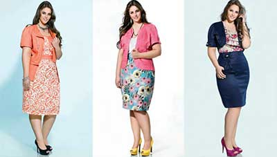 sugestões da moda plus size
