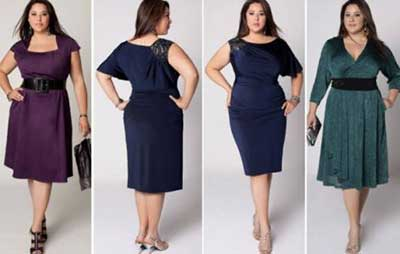 fotos de vestidos plus size
