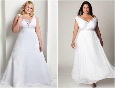 vestidos de noiva da moda feminina