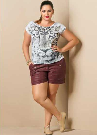 De shortinho curto no mercado brunette shorts small 207 - 2 part 7