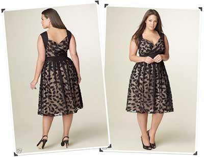 fotos de vestidos para gordinhas