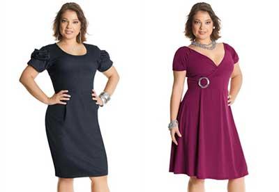 vestidos curtos plus size