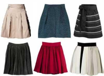 tendências de saias da moda