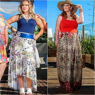 saias da moda plus size