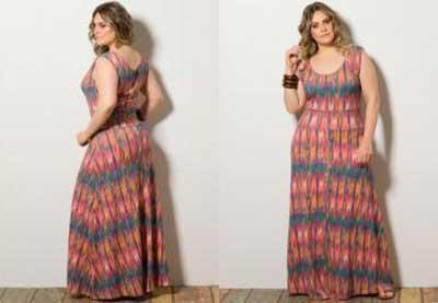 tendências de vestidos para gordinhas