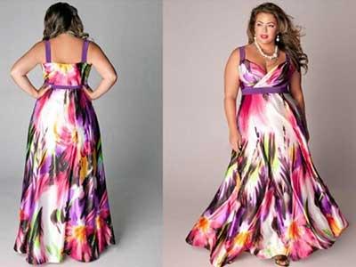 vestidos longos plus size