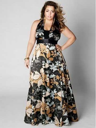 vestidos longos para gordinhas