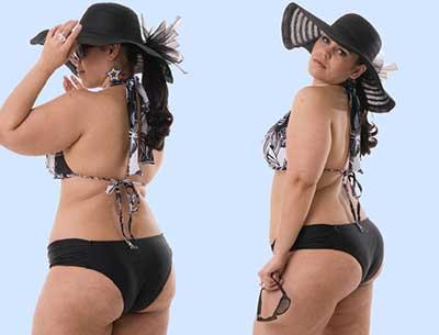 modelos de biquínis plus size