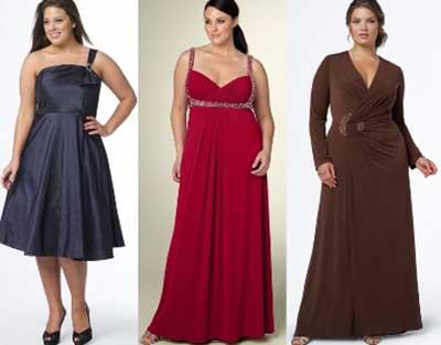 moda plus size para festas