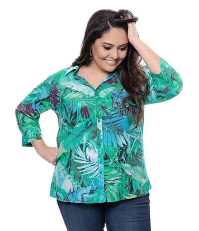 Fotos de Camisas Plus Size