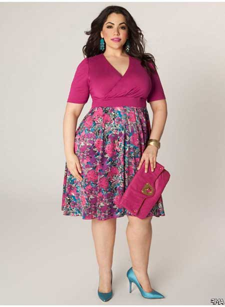 Imagens da Moda Plus Size 2016