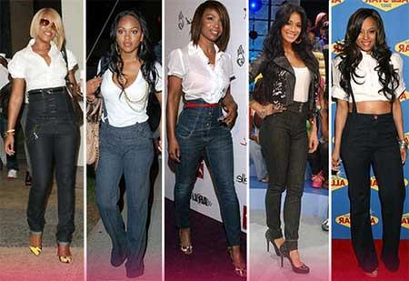 modelos de calça cintura alta