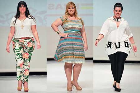 5ab4d23e6 Tendências da Moda Feminina Outono Inverno Plus Size