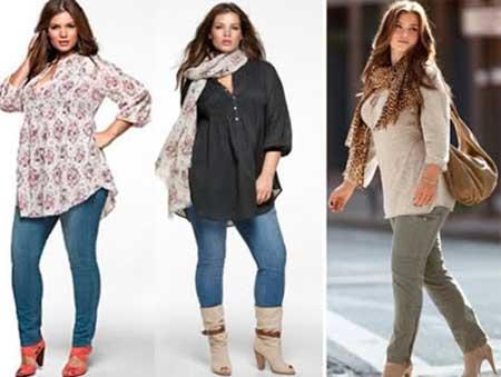 3602620c90a285 Tendências da Moda Feminina Outono Inverno Plus Size