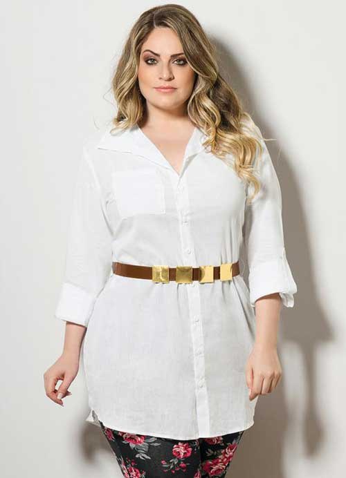 17c11fd77 GUIA da Moda  Roupa Branca Plus Size (Fotos