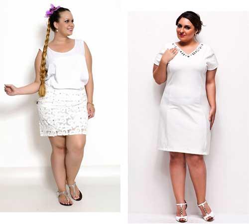 roupas brancas