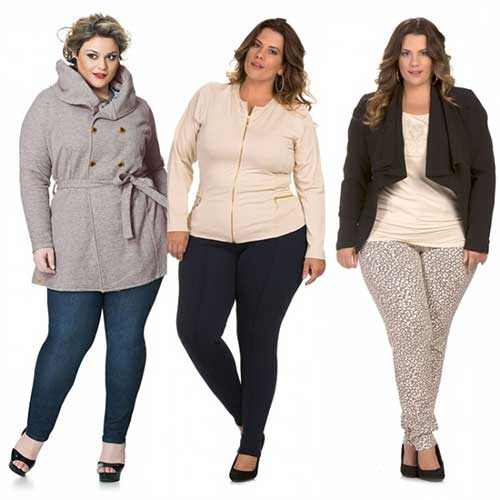 Camisolas Plus Size